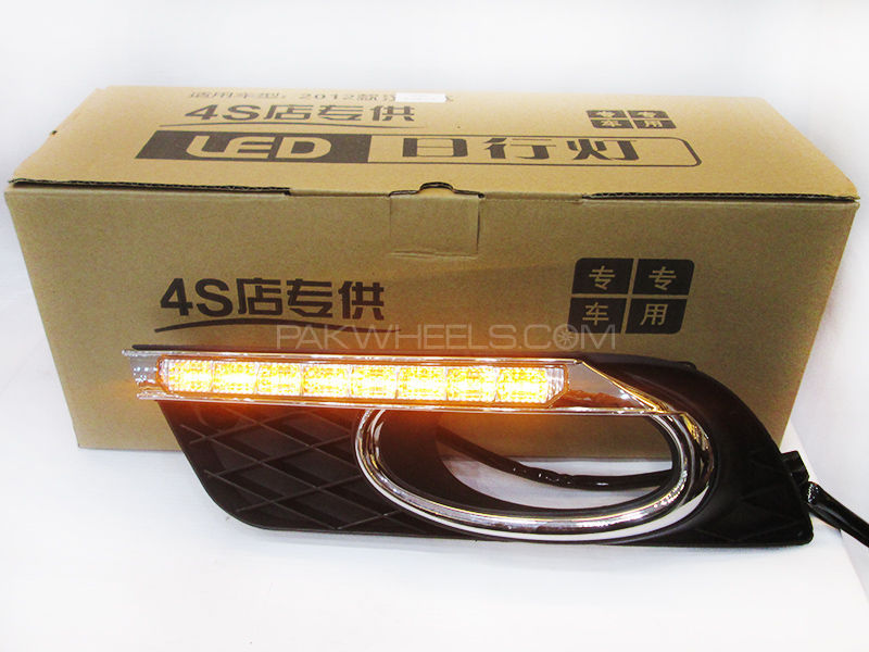 DLAA Fog Light Cover DRL Civic 2014 - With Indicator in Lahore