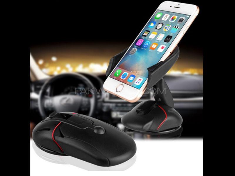 Foldable Phone Holder Mouse Shape Image-1