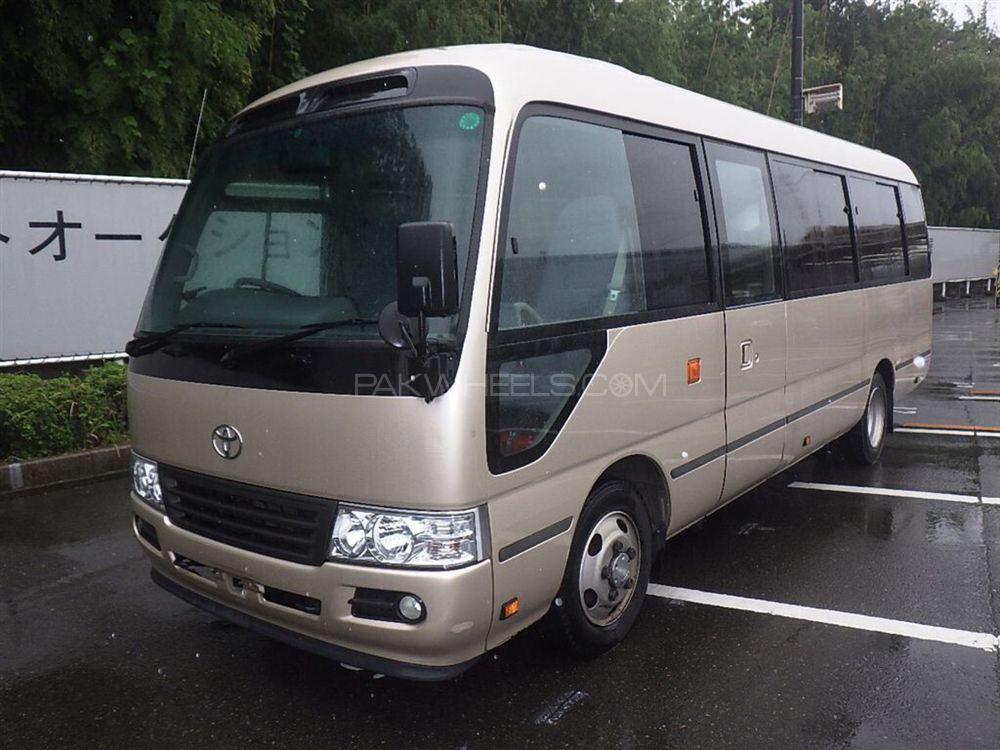 Toyota Coaster 30 Seater F/L 2012 Image-1