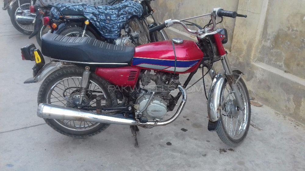 Used Honda 125 Bikes For Sale In Karachi Used Honda CG 125 2011 Bike