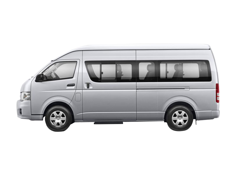 Toyota Hiace 2019 Exterior Side View