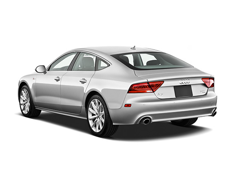 Audi A7  Exterior Rear Side View