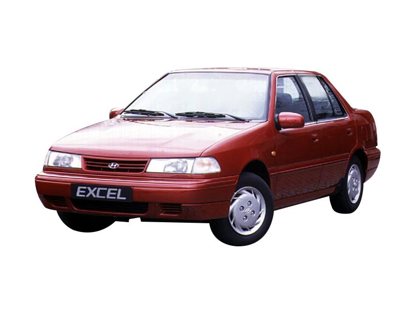 Hyundai Excel 1994 Interior