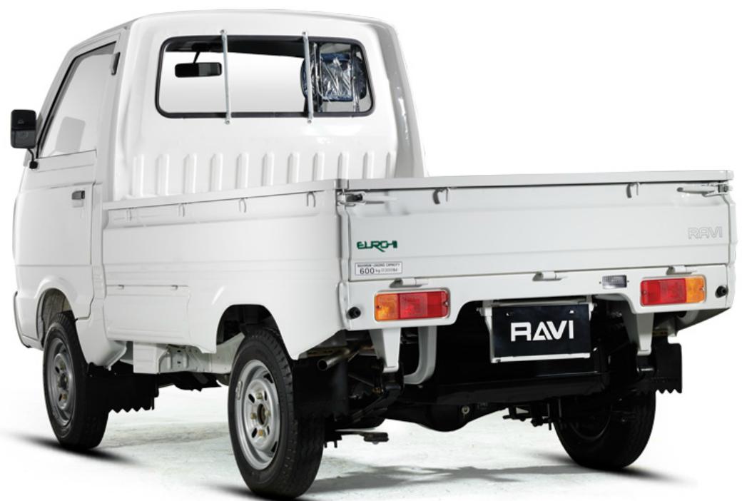 Suzuki Ravi 2019 Exterior Rear End