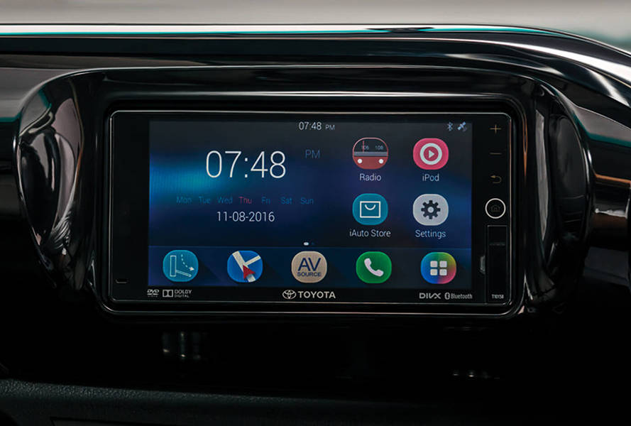 Toyota Hilux 2019 Interior New 7 Inch IS