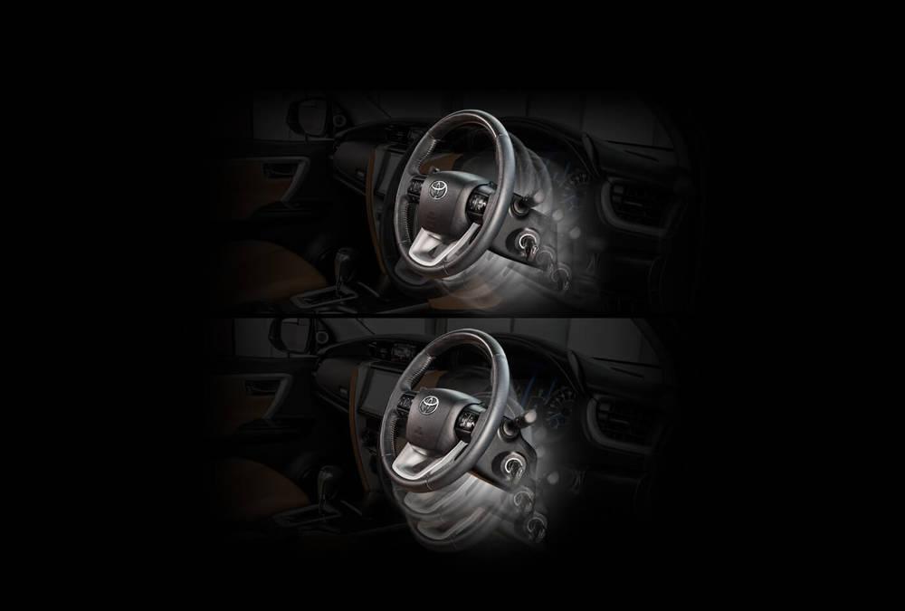 Toyota Fortuner 2019 Interior Steering Mechanism